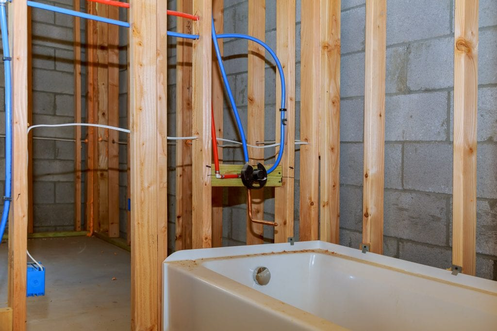 new construction plumbing is a major part of what we do at Beehive Plumbing in Northern Utah