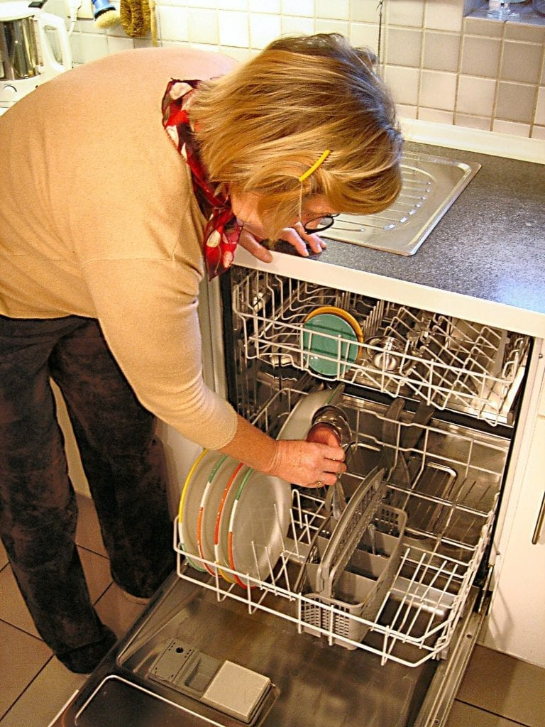 clogged dishwasher requires plumbing repairs