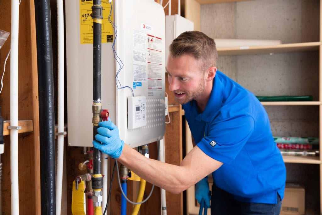 A tankless water heater installation can assist with boosting your home's value
