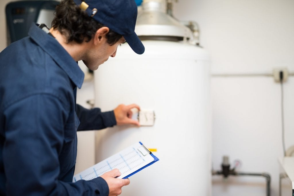 plumbing services like a water heater installation and replacement needs to abide by social distancing for the foreseeable future