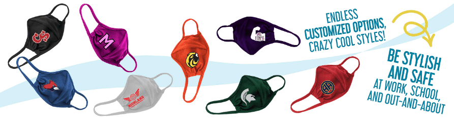 custom face masks are important for all students and faculty this back-to-school season
