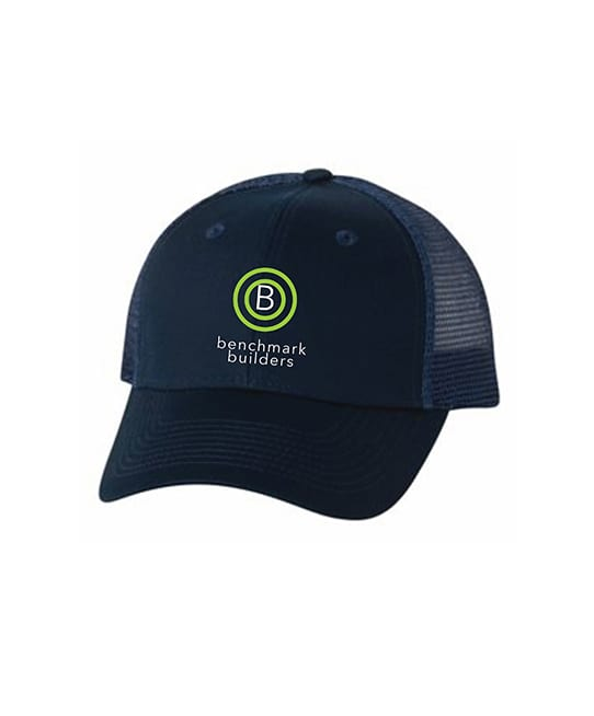 custom headwear from ARES Sportswear many times features custom embroidery