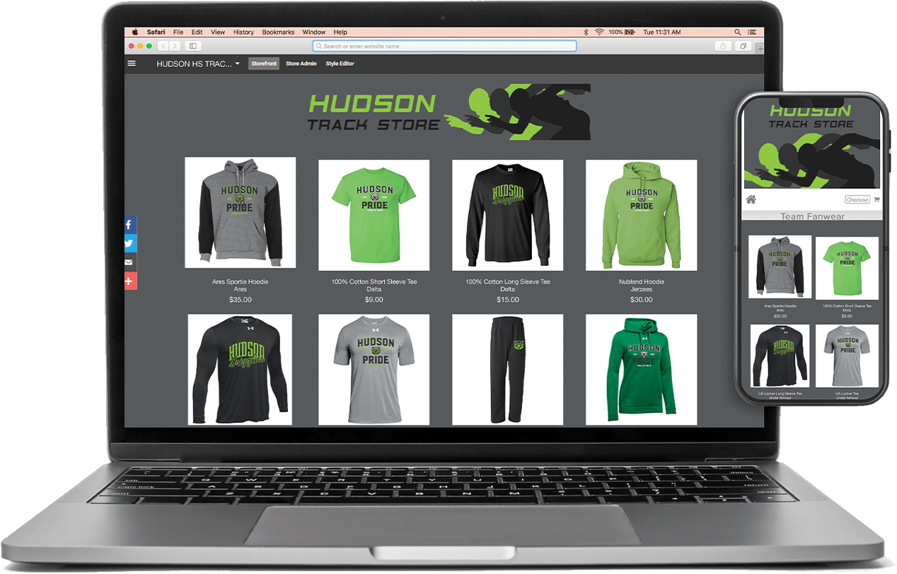 Track and Field Teamstore