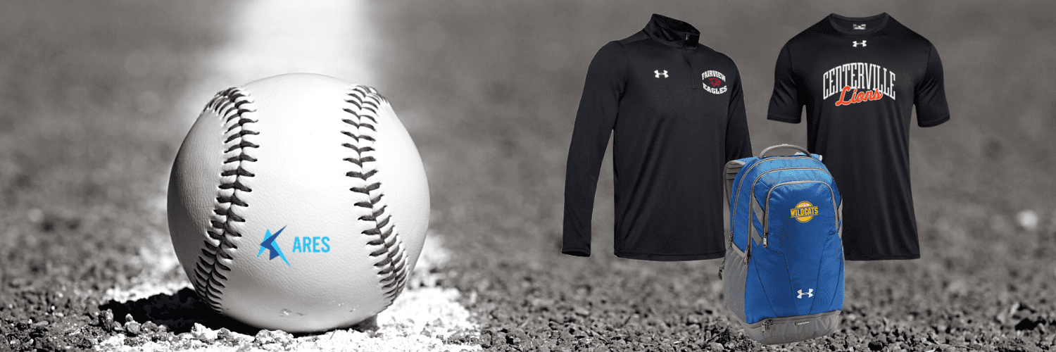 under armour custom apparel from Ares Sportswear